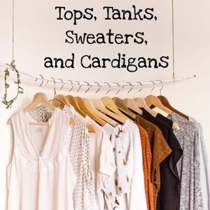 Other - Tops, Tanks, Sweaters, and Cardigans